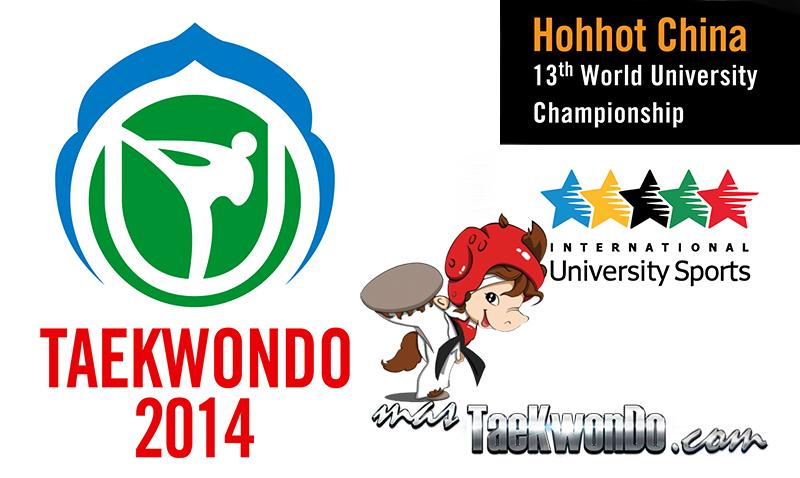 """El """"13th World University Taekwondo Championship"""" comenzó este domingo en la ciudad de Hohhot, Mongolia Interior, China. Este evento mundial se extiende desde el 8 de junio hasta el próximo sábado 14."""