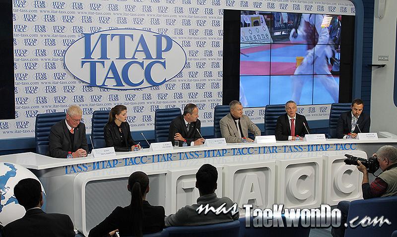 Se realizó la Conferencia de Prensa del Mundial de Para-Taekwondo