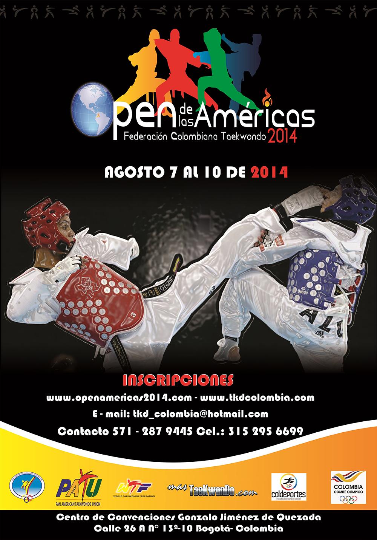 poster OPEN DE LAS AMERICAS