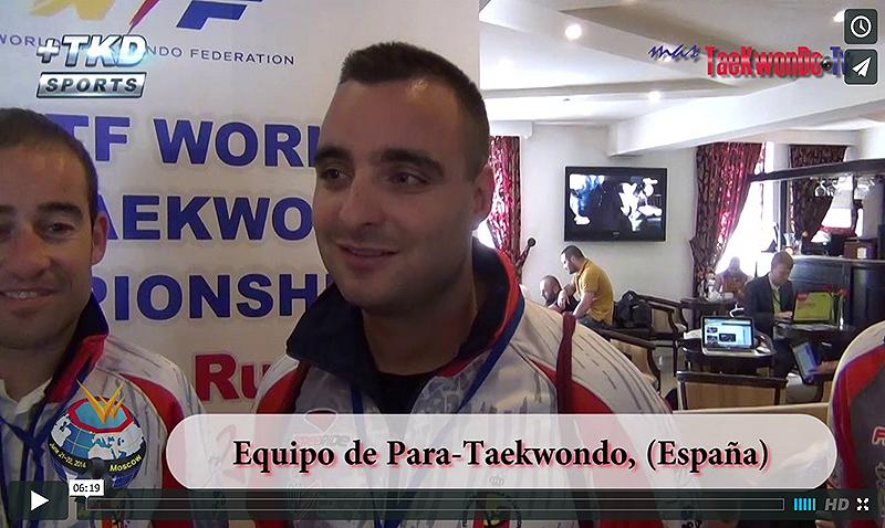 Entrevista con el Equipo de Para-Taekwondo de España