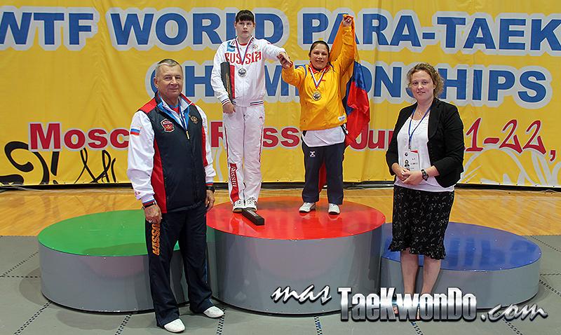 Poomsae Femenino Para-Taekwondo