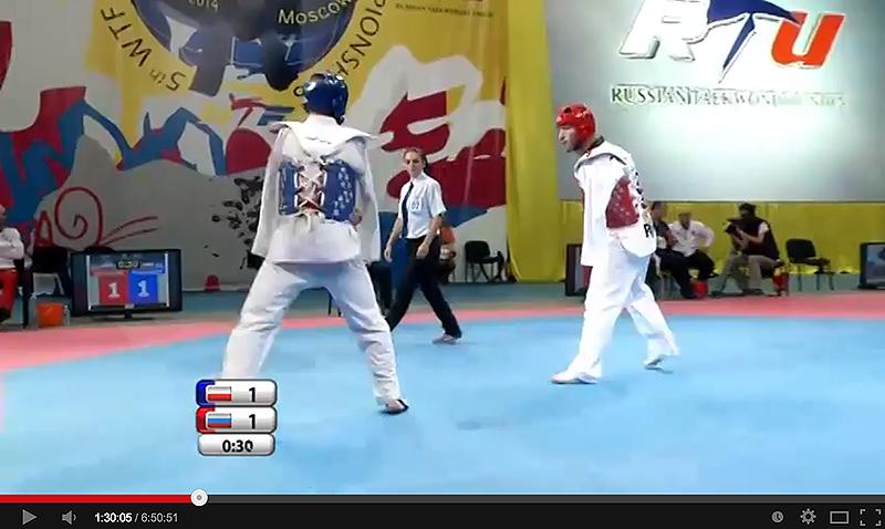 Video de los combates del primer día del Mundial de Para-Taekwondo
