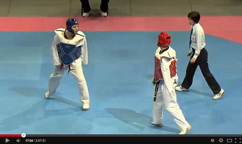 Video de los combates del segundo día del Mundial de Para-Taekwondo
