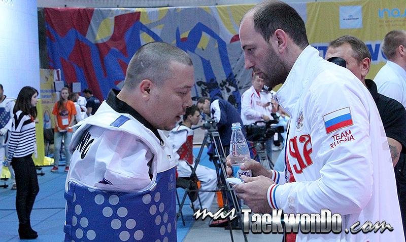 Imágenes del segundo día del 5th World Para-Taekwondo Championships