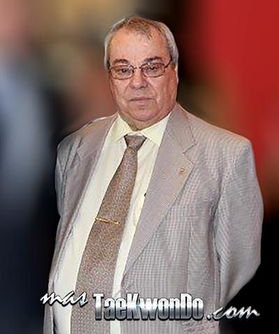 Ángel Octavio Ojeda Santana (Presidente de la Federación Canaria de Taekwondo y Vicepresidente de la Real Federación Española de Taekwondo)