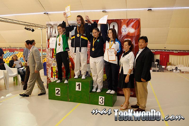 HEAVY Femenino +59 Kg. Campeonato de España Cadete de Taekwondo