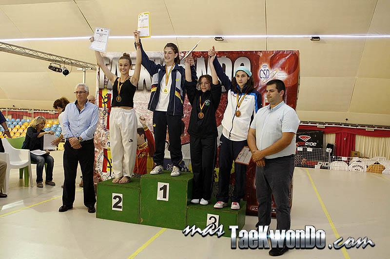 MIDDLE Femenino -55 Kg. Campeonato de España Cadete de Taekwondo