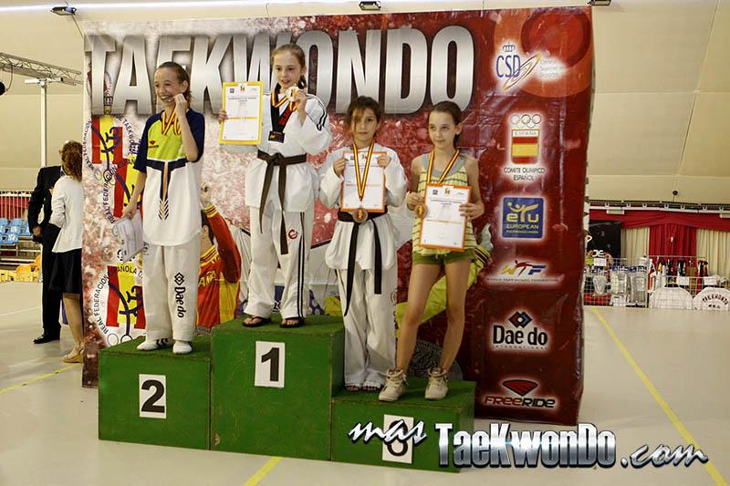 FIN Femenino -29 Kg. Campeonato de España Cadete de Taekwondo