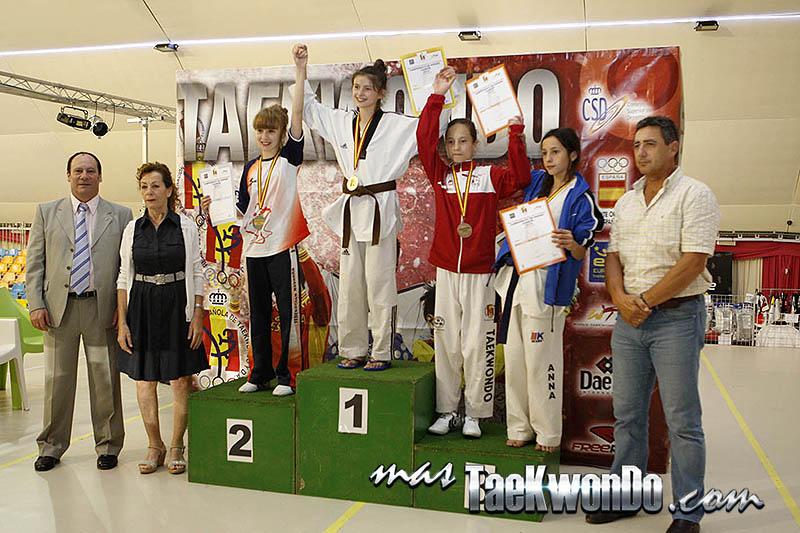 FLY Femenino -33 Kg. Campeonato de España Cadete de Taekwondo