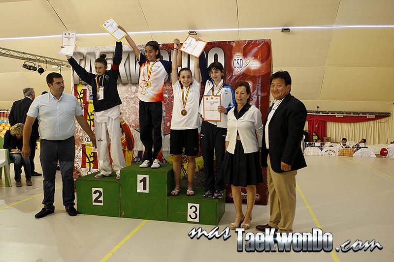 FEATHER Femenino -41 Kg. Campeonato de España Cadete de Taekwondo