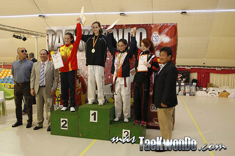 LIGHT Femenino -44 Kg. Campeonato de España Cadete de Taekwondo