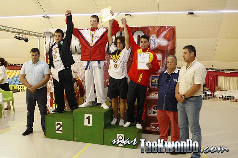 HEAVY Masculino +65 Kg. Campeonato de España Cadete de Taekwondo