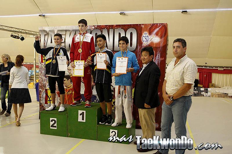 BANTAM Masculino -41 Kg. Campeonato de España Cadete de Taekwondo