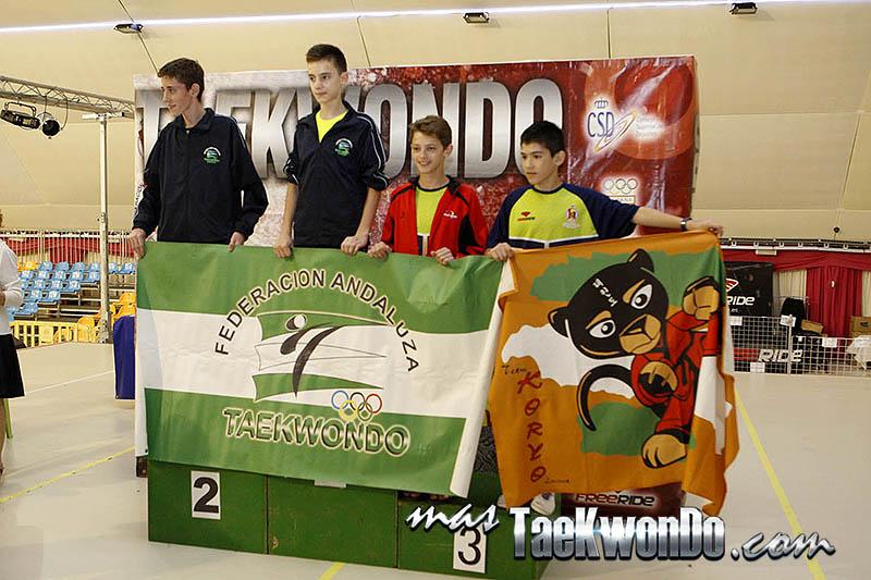 FEATHER Masculino -45 Kg. Campeonato de España Cadete de Taekwondo