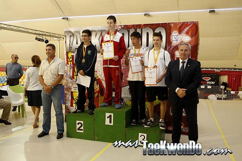 LIGHT MIDDLE Masculino -57 Kg. Campeonato de España Cadete de Taekwondo