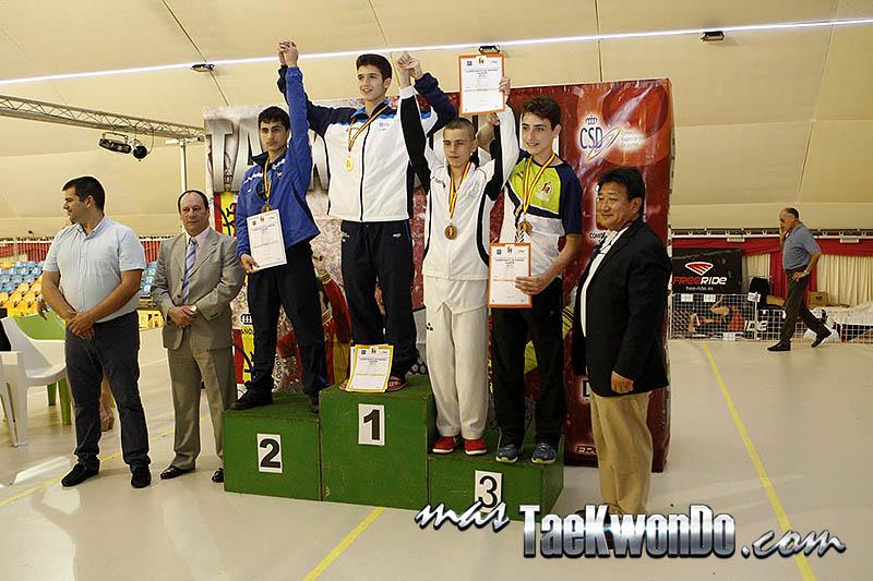 MIDDLE Masculino -61 Kg. Campeonato de España Cadete de Taekwondo