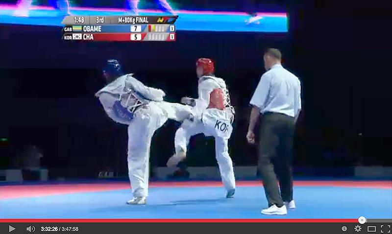 Imagen de la transmision en vivo del GP Series Suzhou 2014 - Taekwondo
