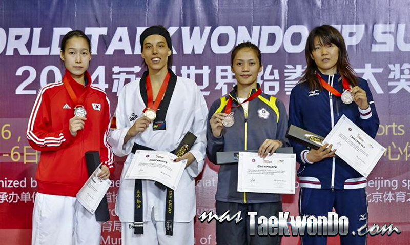 2014 WTF World Taekwondo Grand Prix Series 1, Podio F-57
