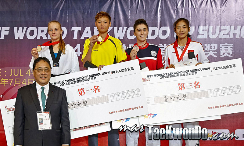 2014 WTF World Taekwondo Grand Prix Series 1, Podio F-67