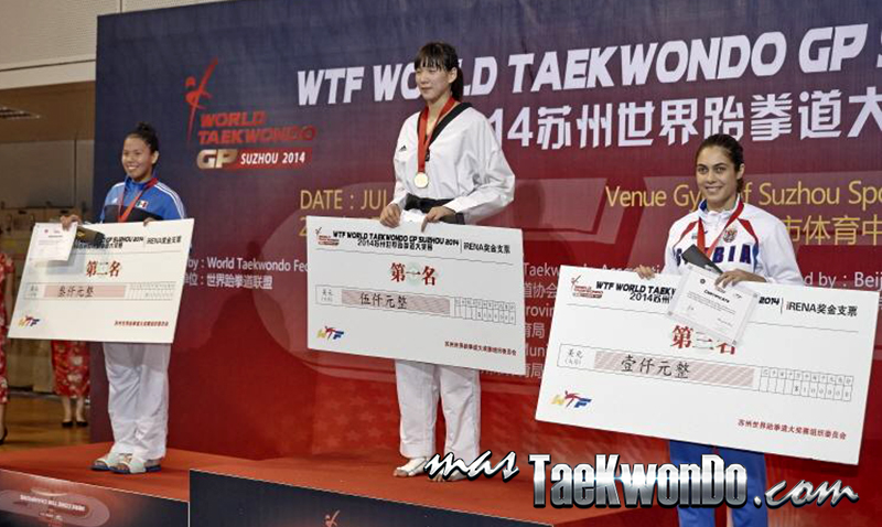 2014 WTF World Taekwondo Grand Prix Series 1, Podio F+67