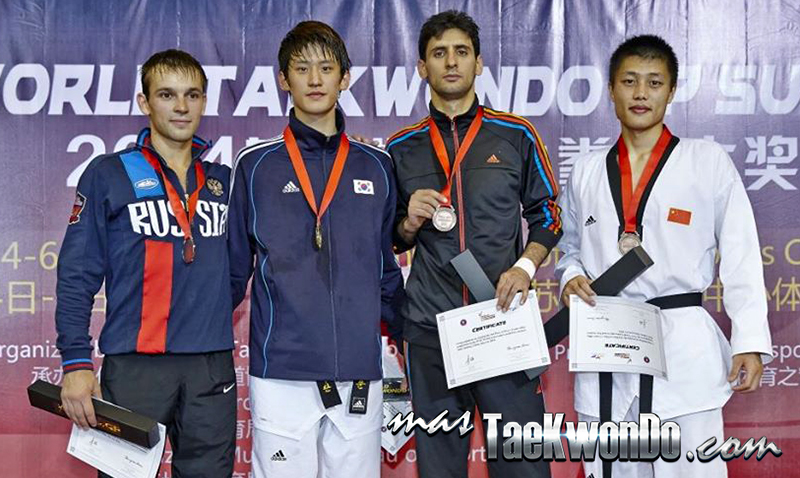 2014 WTF World Taekwondo Grand Prix Series 1, Podio M-68