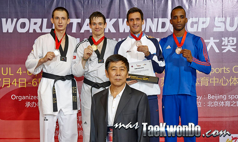 2014 WTF World Taekwondo Grand Prix Series 1, Podio M-80