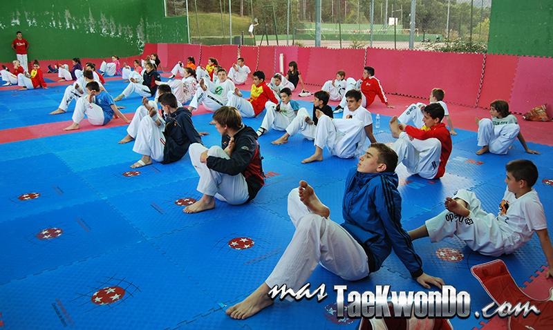 I Campus de Tekwondo Jesús Tortosa, entrenamiento