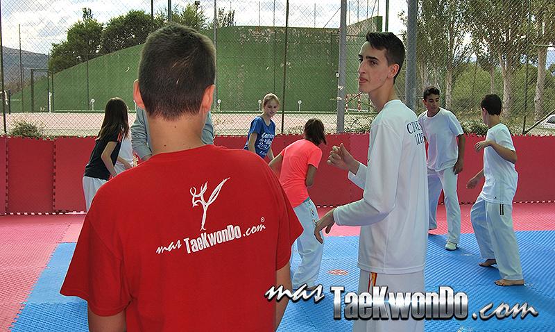 I Campus de Tekwondo Jesús Tortosa, Jesus Tortosa Junior