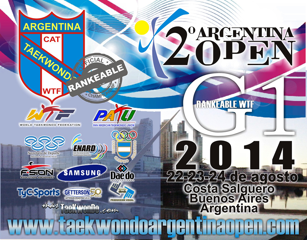 Afiche del Argentina Open 2014