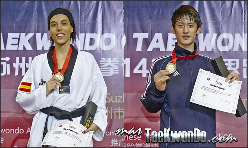 Suzhou2014_D3 gold-medallist_Taekwondo