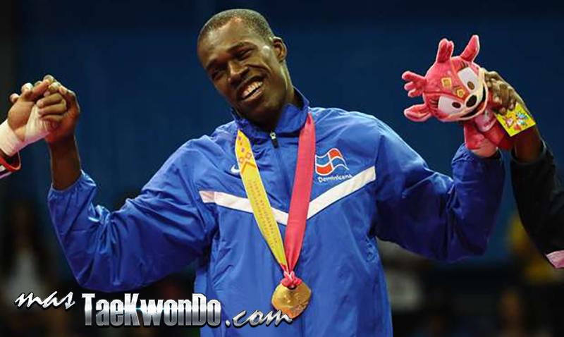 Atleta Jean Bartermi de Taekwondo (Republica Dominicana)