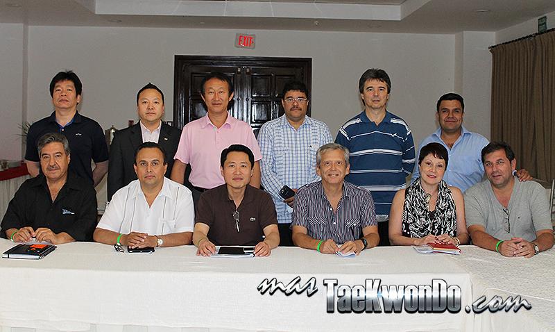 Reunión del Concejo Ejecutivo de PATU (Santo Domingo, Abril de 2014).