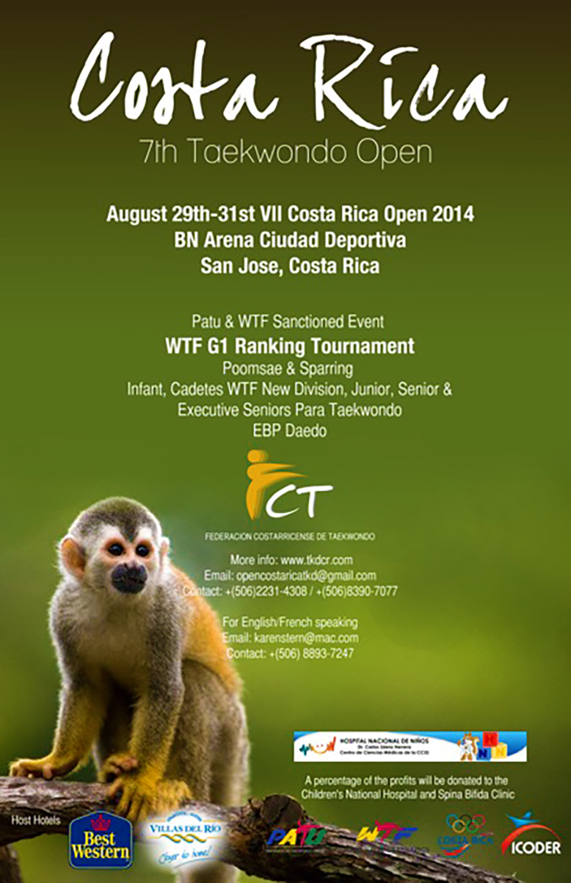 Poster Costa Rica Open 2014