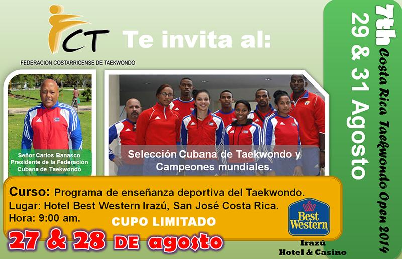 Curso Programa de enseñanza deportiva del Taekwondo
