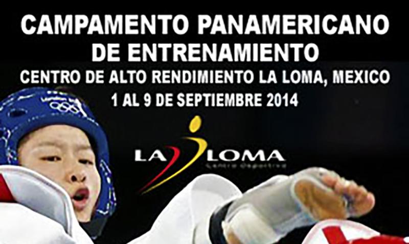 Portada del Campamentos previos al Campeonato y Open Panamericano Mexico 2014