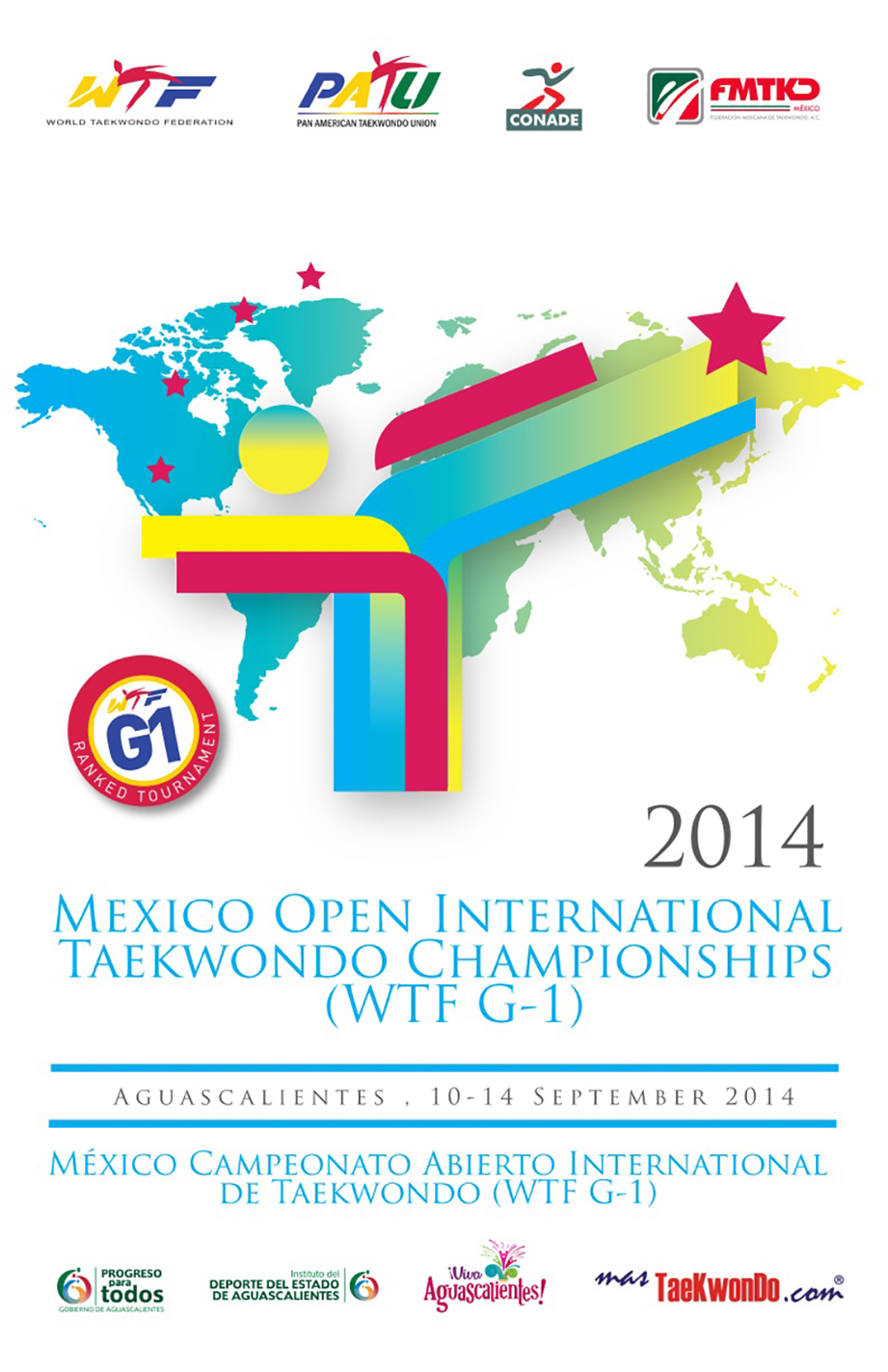 Poster Mexico Open G1