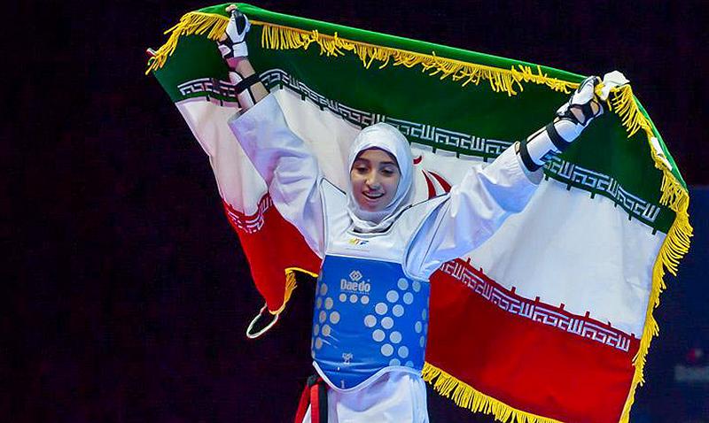 Mahla Momenzadeh de Irán