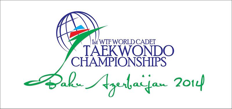 LOGO del 1st WTF World Cadet Taekwondo Championships