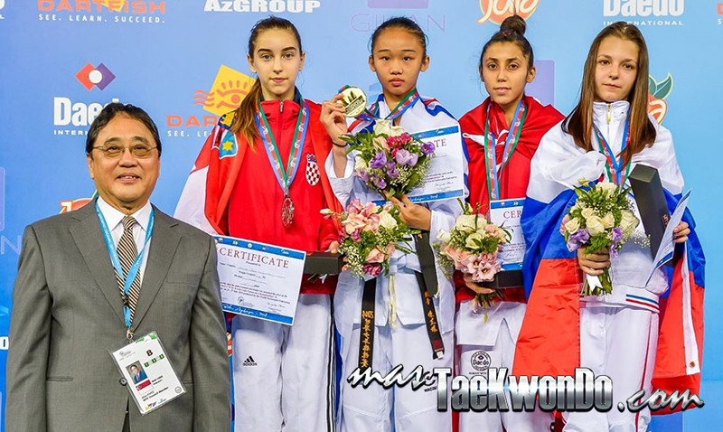 D2_1st WTF World Cadet Taekwondo Championships_Cadet Female -41kg