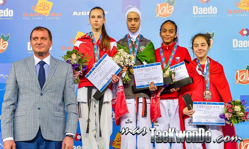 D2_1st WTF World Cadet Taekwondo Championships_Cadet Female -44kg