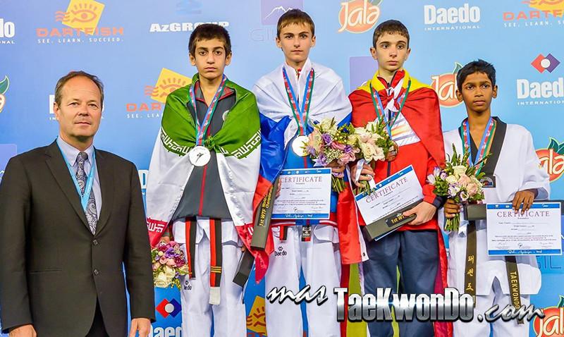 D2_1st WTF World Cadet Taekwondo Championships_Cadet Male -41kg