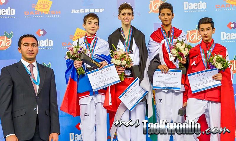 D2_1st WTF World Cadet Taekwondo Championships_Cadet Male -45kg