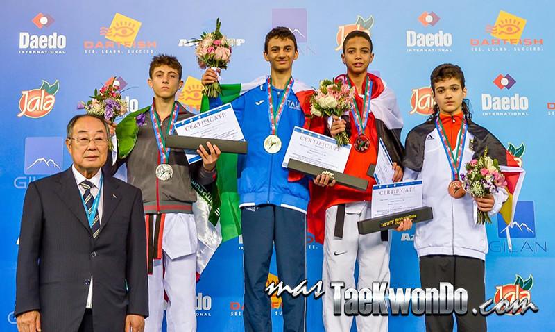 D2_1st WTF World Cadet Taekwondo Championships_Cadet Male -49kg