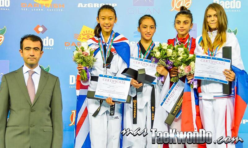 D3_1st WTF World Cadet Taekwondo Championships_Cadet Female -47kg