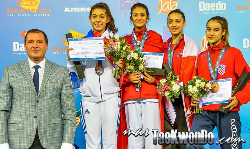 D3_1st WTF World Cadet Taekwondo Championships_Cadet Female -51kg