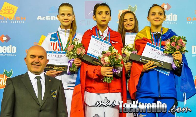 D3_1st WTF World Cadet Taekwondo Championships_Cadet Female -55kg