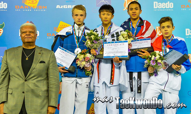D3_1st WTF World Cadet Taekwondo Championships_Cadet male -53kg