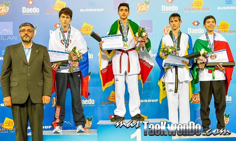 D3_1st WTF World Cadet Taekwondo Championships_Cadet male -57kg