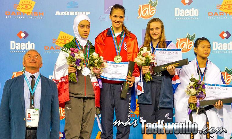 D4_1st WTF World Cadet Taekwondo Championships_Cadet Female -59kg