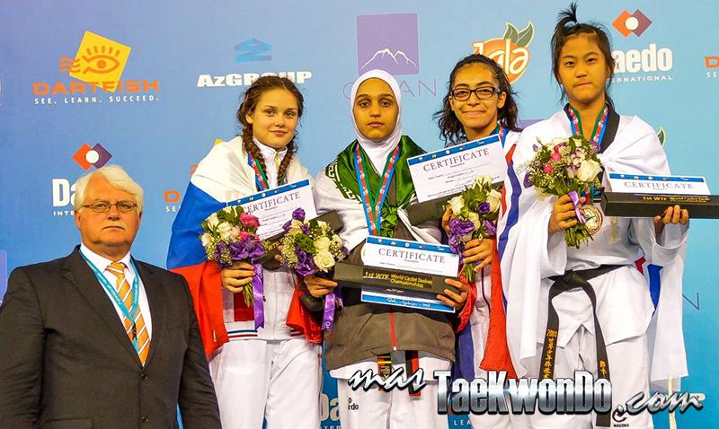 D4_1st WTF World Cadet Taekwondo Championships_Cadet Female o59kg